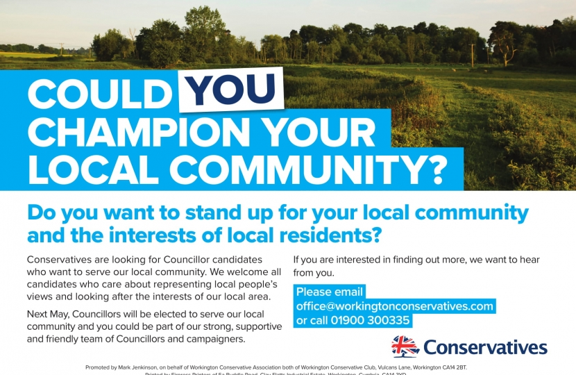 Could you champion your local community?
