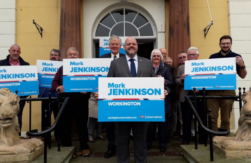 Mark Jenkinson for Workington
